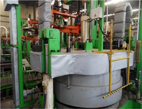 沈阳普利司通轮胎硫化机保温套工程案例